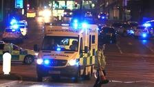 Cumbria Police tweet following suspected 'terror' attack in Manchester