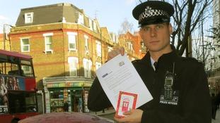 Police wish gang members a 'Merry Christmas'