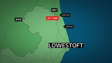 A woman has died following a crash in Lowestoft.