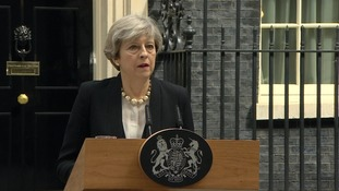 Prime Minister Theresa May said the 'bravery' of the city and emergency services met the 'cowardice' of the attacker.
