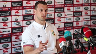 British and Irish Lions captain Sam Warburton declares himself fully fit for New Zealand Tour
