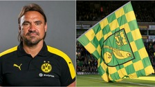 Daniel Farke looks set to take over at Norwich City.