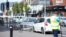 Man in hospital after east Belfast crash