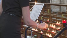 Winchester prayers for the Manchester Arena bomb victims