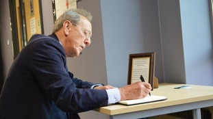 Book of condolence opened at Lincoln City Hall