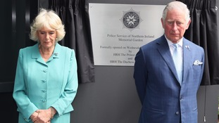 The Prince of Wales and Duchess of Cornwall pictured earlier in May.