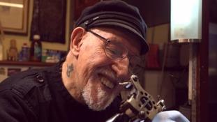 World's oldest tattoo artist still going strong at 85