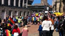 Birmingham Pride in 2013.