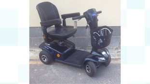 Disabled woman housebound after mobility scooter stolen