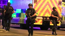 Midlands police sent firearms teams to assist Greater Manchester Police in terror attack
