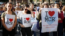 Manchester unites in defiance after bombing