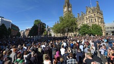 Thousands gather for vigil in Manchester show of solidarity
