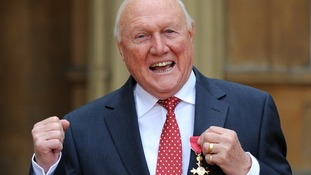 Veteran broadcaster Stuart Hall