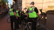Man arrested following a disturbance near Birmingham vigil