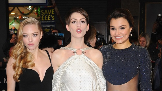 Amanda Seyfried, Anne Hathaway and Samantha Barks