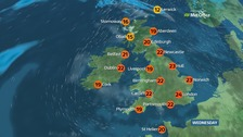 Weather: It will be another very warm day