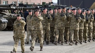 The military is set to be deployed across London.