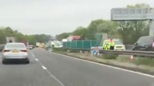 Five people die in serious collision on M6