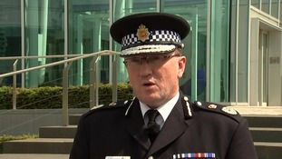 Chief constable Ian Hopkins confirmed the serving officer's death.