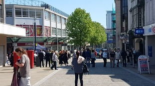 """Shopper evacuated from Swansea shopping centre: """"It was so frightening, we suddenly had to all get out"""""""