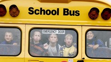 School bus in the UK