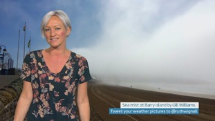 Wales Weather: Dry, misty and muggy!