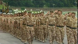 Soldiers will march through Chester to mark return from tour of Afghanistan.