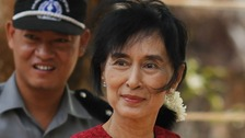 Suu Kyi's National League for Democracy (NLD) says it has one at least 19 of the 45 seats in the historic by-election.