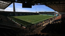 Fans have been told to get to Franklin's Gardens early.