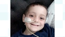 Bradley Lowery 'now receiving palliative care at home'