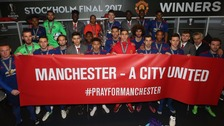 Manchester United win Europa League on emotional night