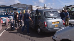 Rank taxi drivers refuse passengers in protest