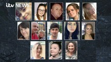 The victims of the Manchester suicide bombing