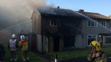 Investigations begin into serious house fire in Twerton