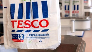 Tesco set to scrap 5p carrier bags in stores