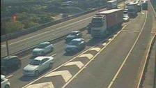 Traffic Wales camera image