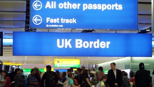 Net migration to the UK fell by 84,000 in 2016 compared to 2015.