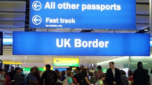 Net migration to UK down 'significantly' by 84,000 in 2016