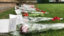 Silence held across region for Manchester attack victims