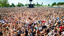 The crowd during BBC Radio 1's Big Weekend in Exeter last year.