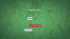 A man has died in a crash near Peterborough.