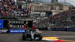 Hamilton fastest in Monaco first practice ahead of Vettel as Button returns