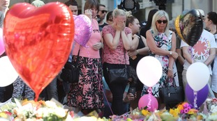 West Country falls silent to remember Manchester victims