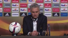 Jose Mourinho at the post-game press conference