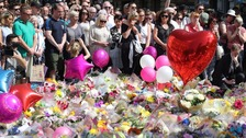 Minute's silence held for Manchester attack victims