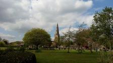 Sunny spells over Northamptonshire