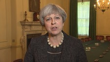 Theresa May: UK threat level remains 'critical'