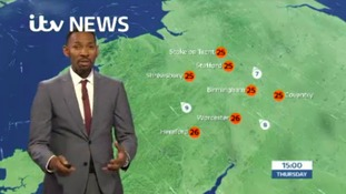 West Midlands Weather: Hot and sunny