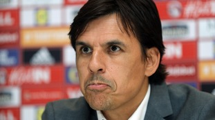 Chris Coleman determined to lead Wales to 2018 World Cup and dismisses Crystal Palace link