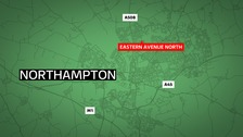 A motorcyclist has died a week after a crash in Northampton.